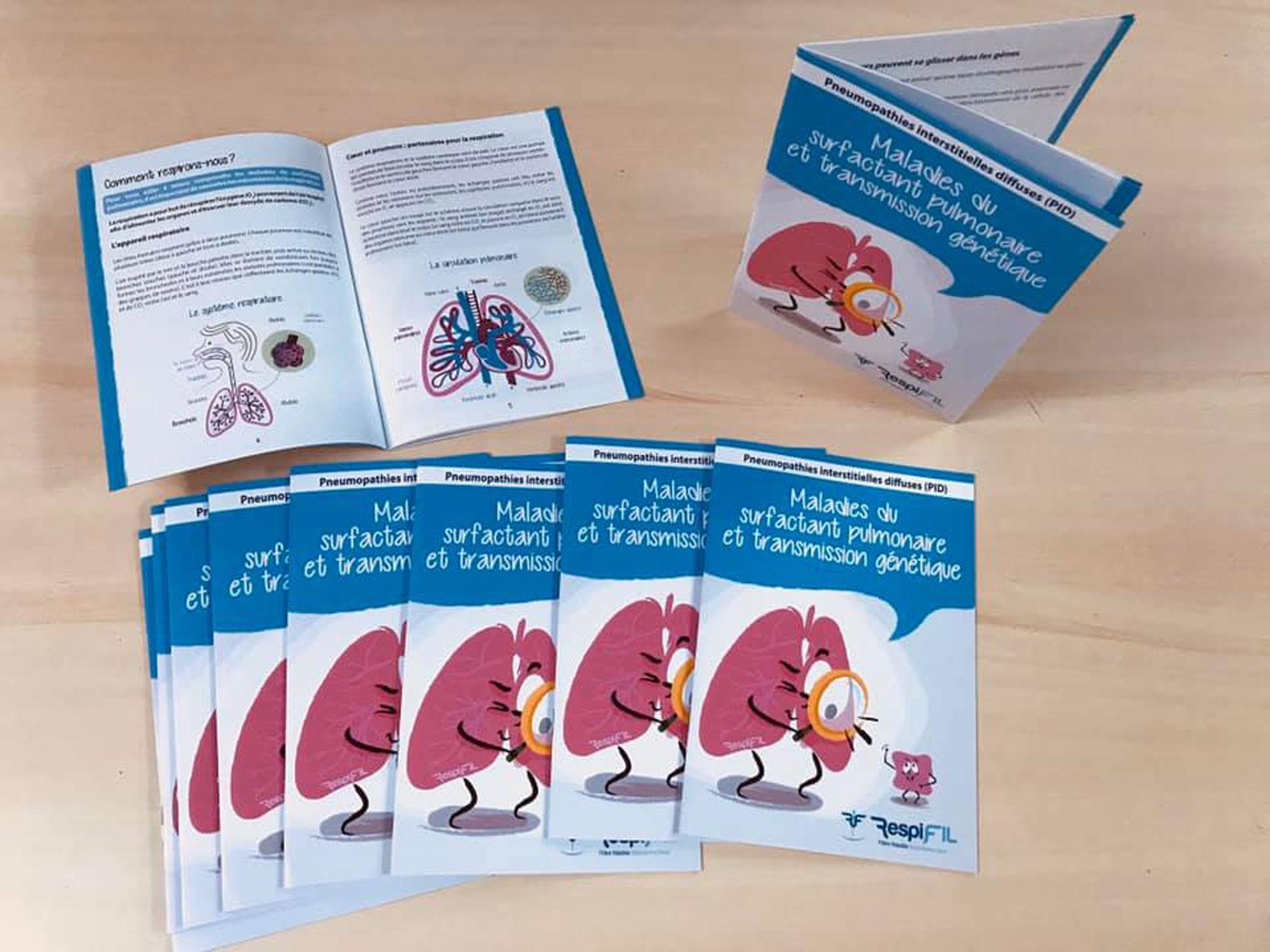 Livret sur les maladies du surfactant pulmonaire