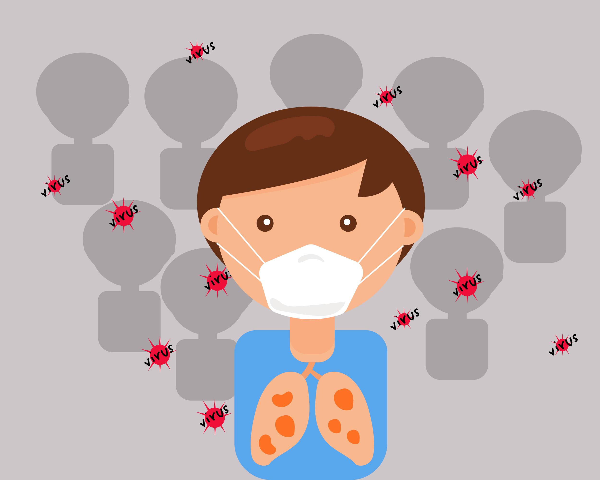 maladiere respiratoire masque enfant