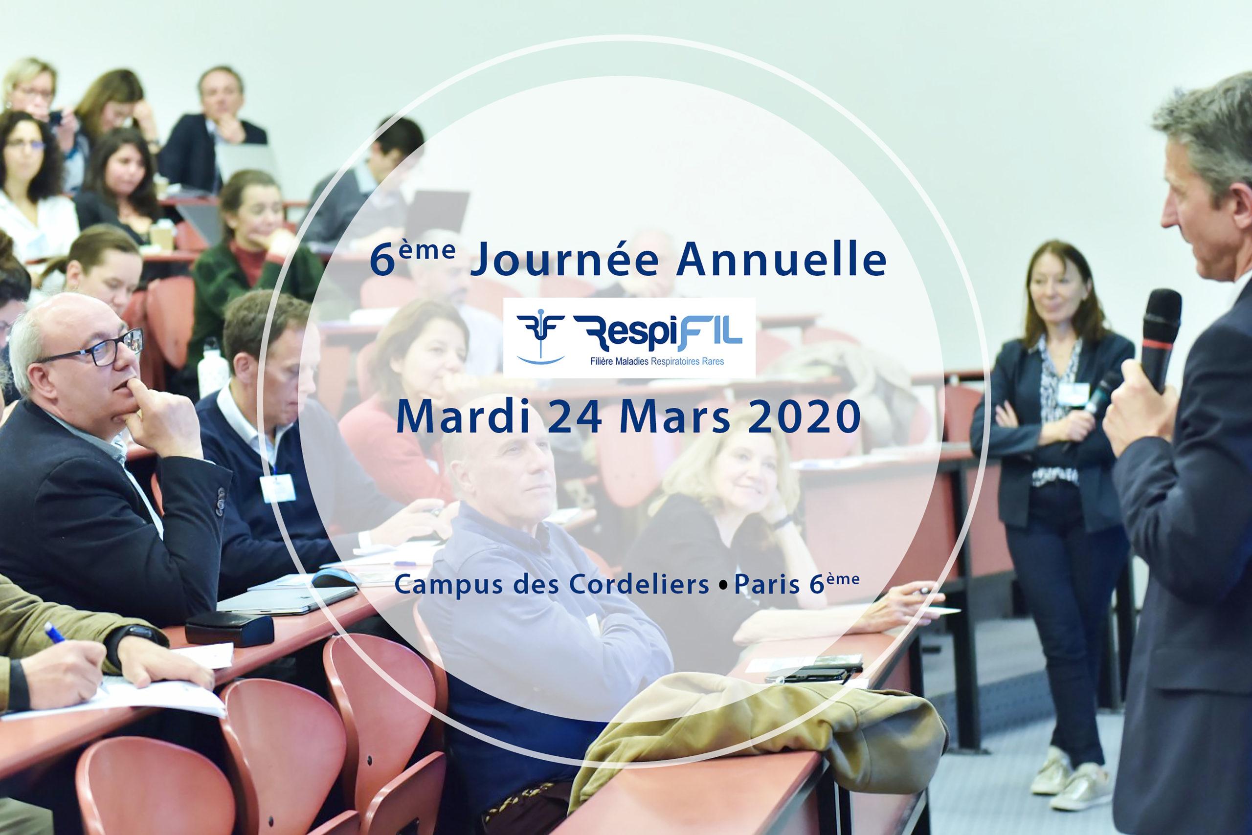 respifil journée annuelle mars 2020
