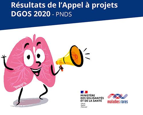 Résultats de l'appel à projets PNDS DGOS 2020